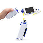 Pen Set with Phone Holder & Torch